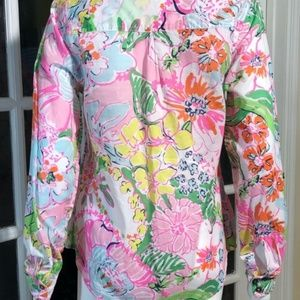 Lilly Pulitzer for Target Tops - Lilly Pulitzer for Target Sz SM Nosey Posey Blouse